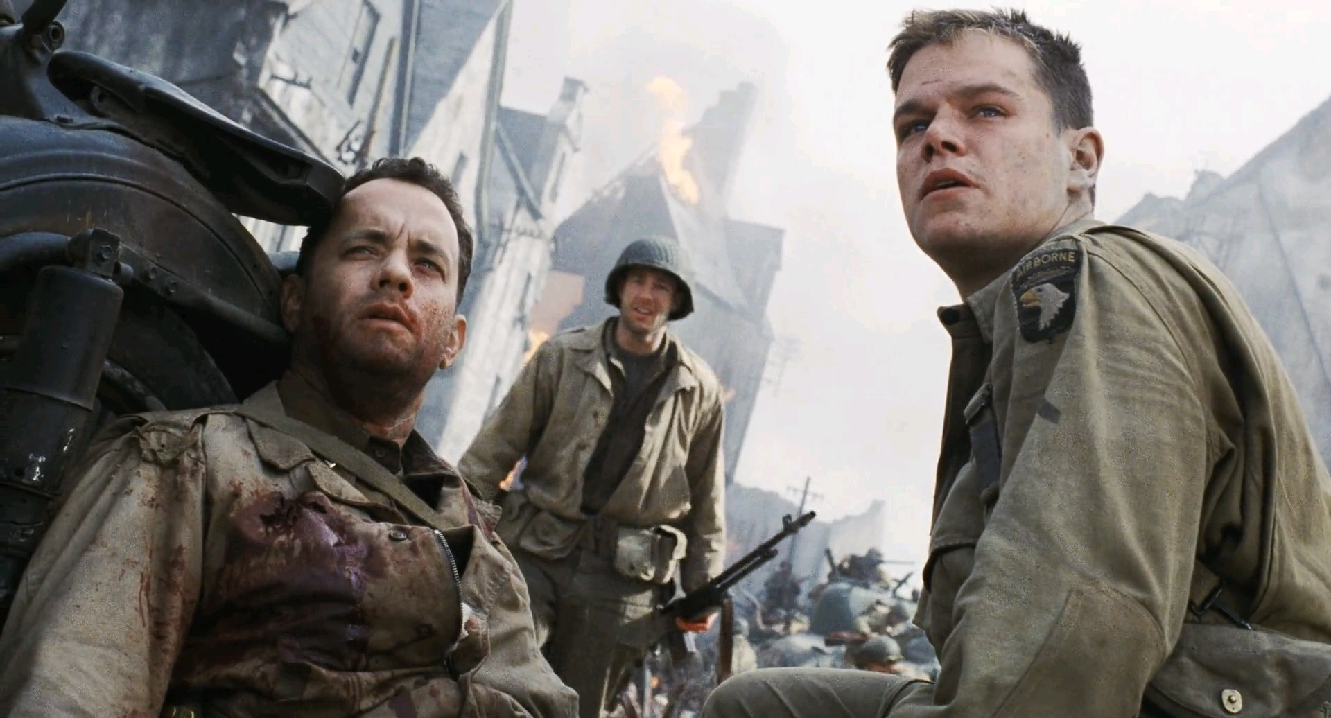 the theme of war in the movies saving private ryan and the thin red line The thin red line was director terrence malick's attempt to make saving private ryan as boring as he possibly could the movie tells the story of various soldiers of.