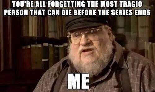 George RR death
