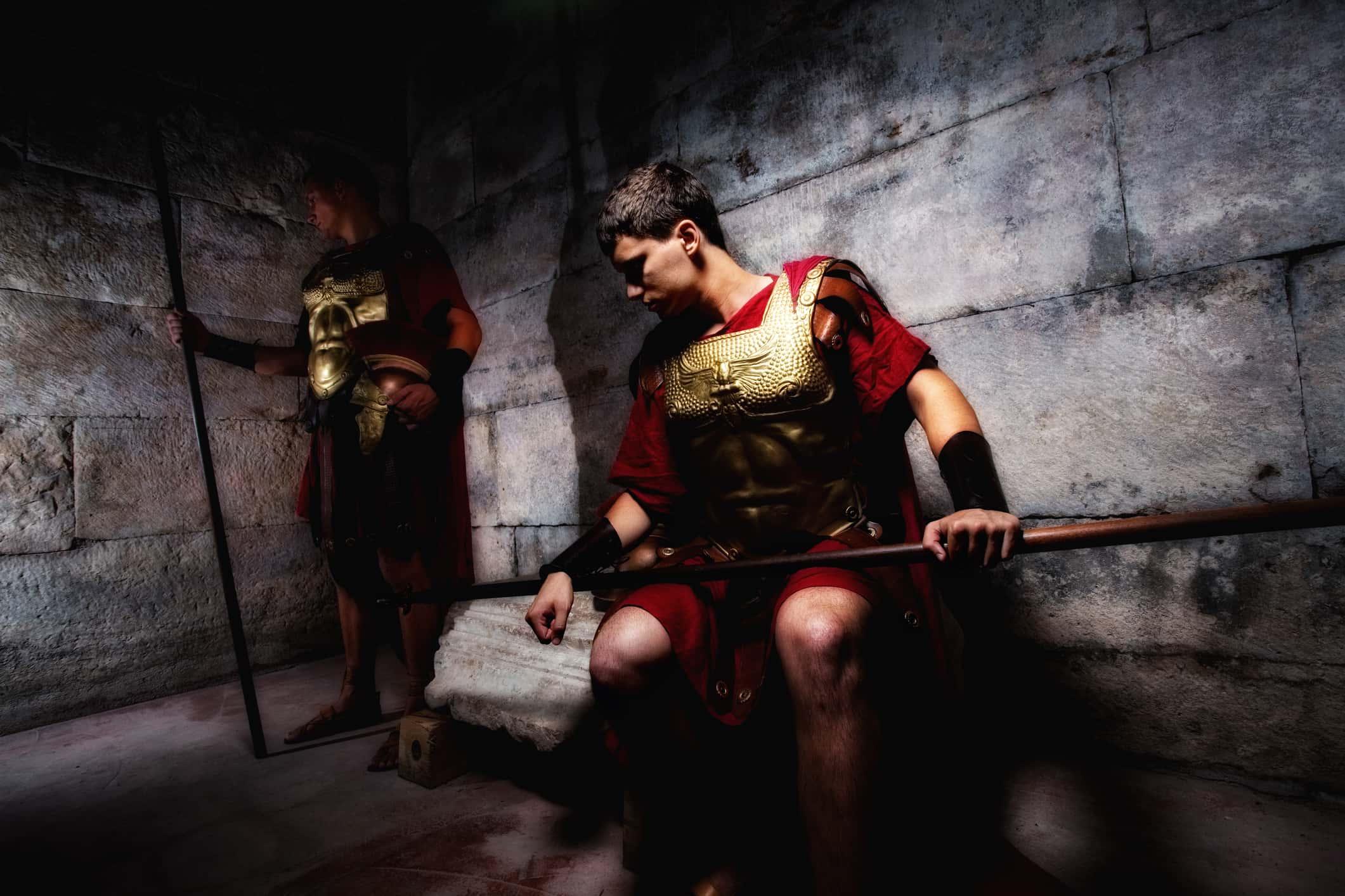 Roman Legion Soldiers.