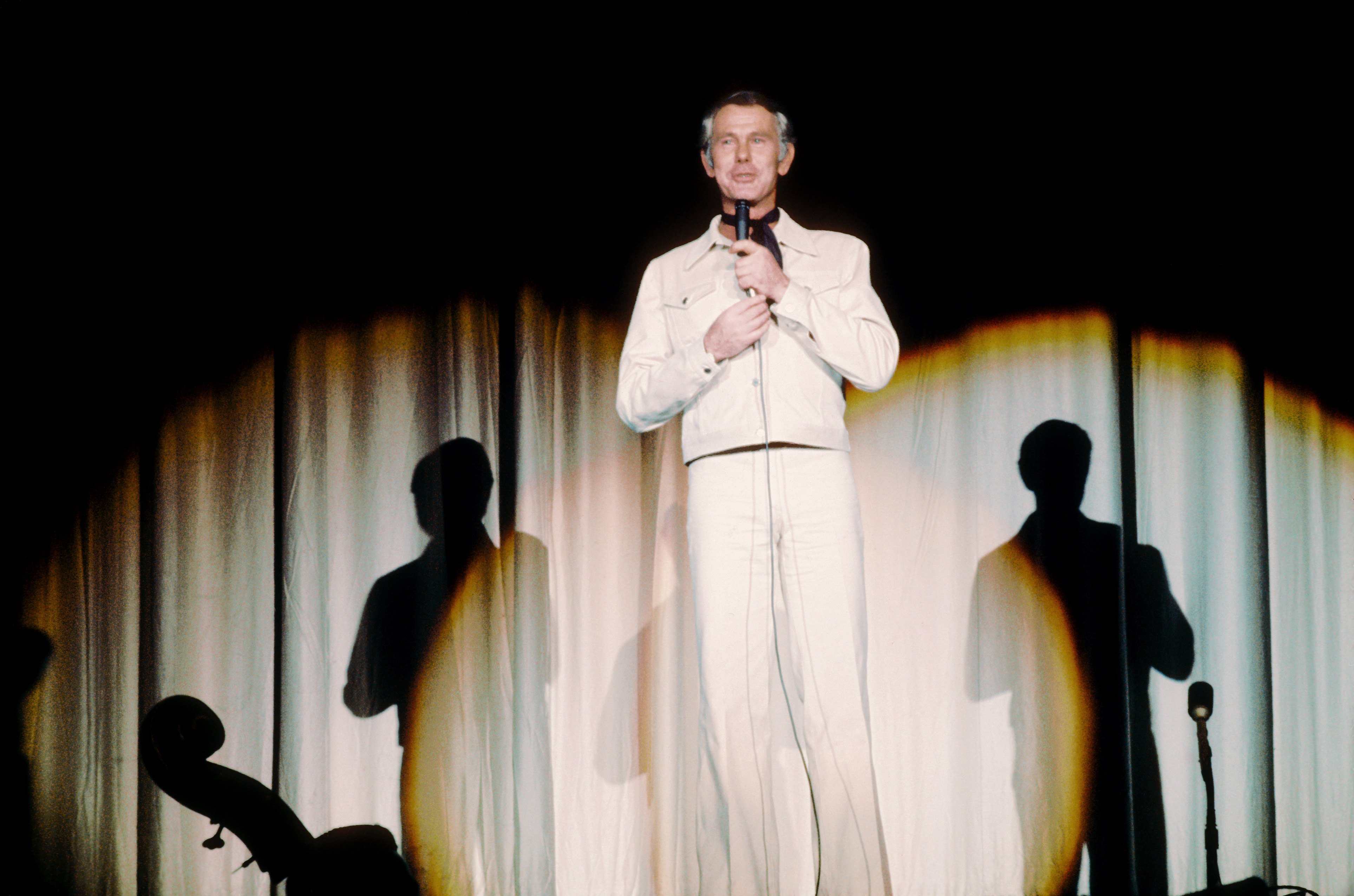 Johnny Carson, Performing On Stage.
