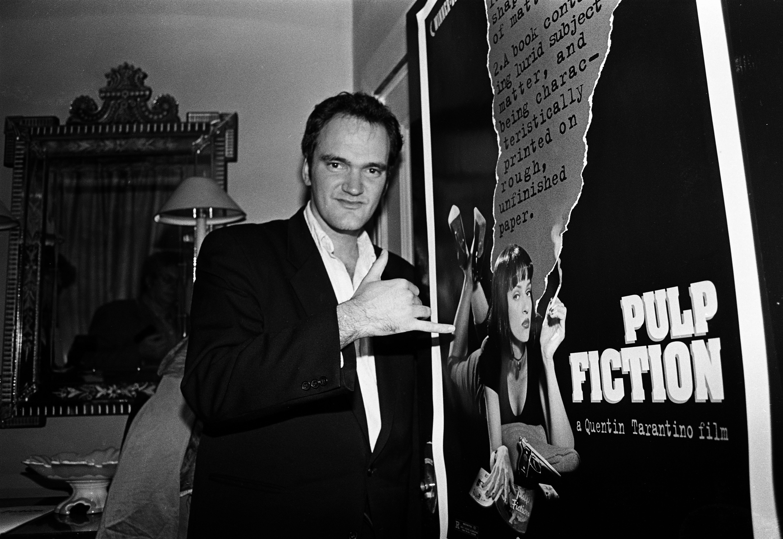 Quentin Tarantino London 1994.