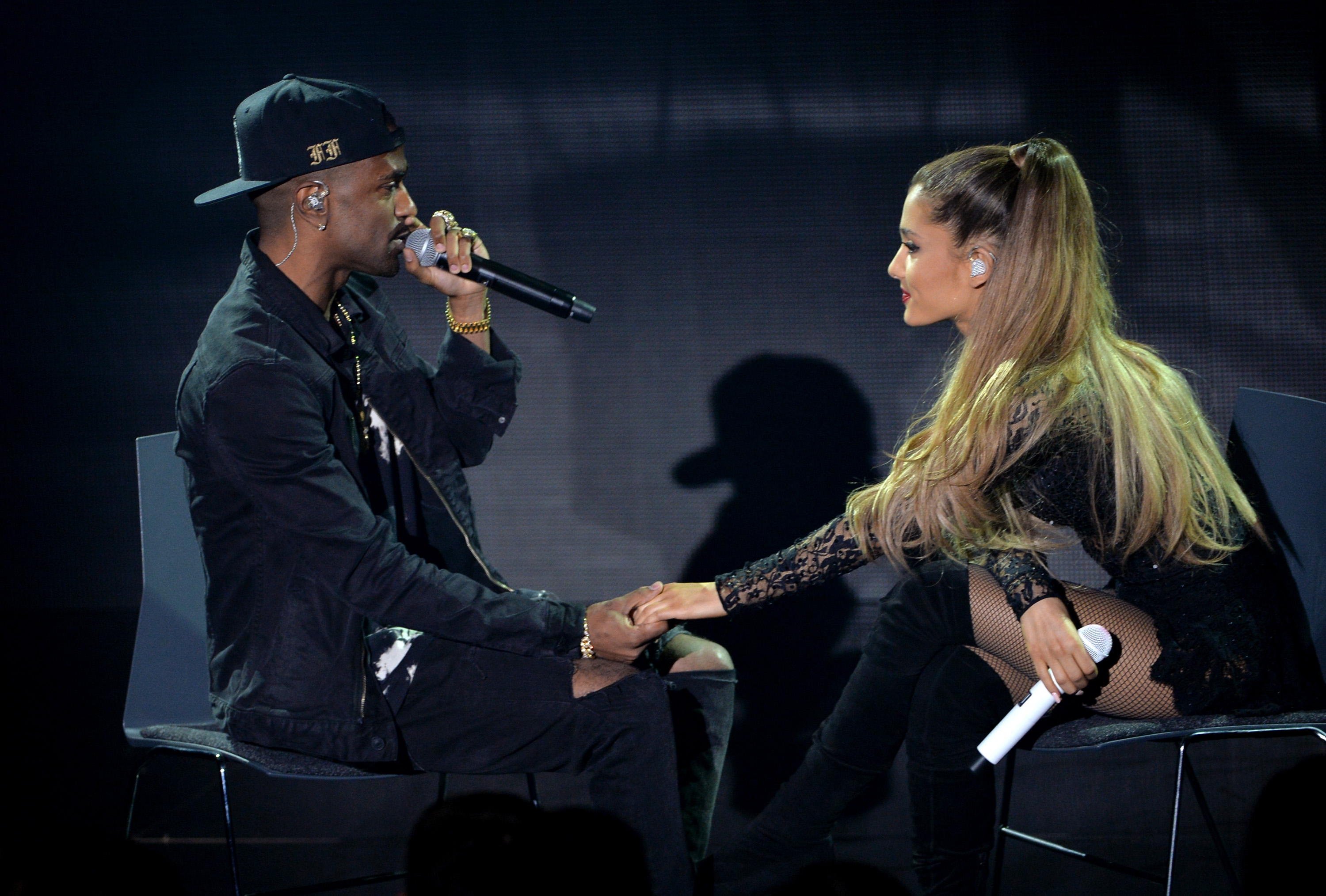 Ariana Grande Performs On The Honda Stage At The iHeartRadio Theater In Los Angeles.