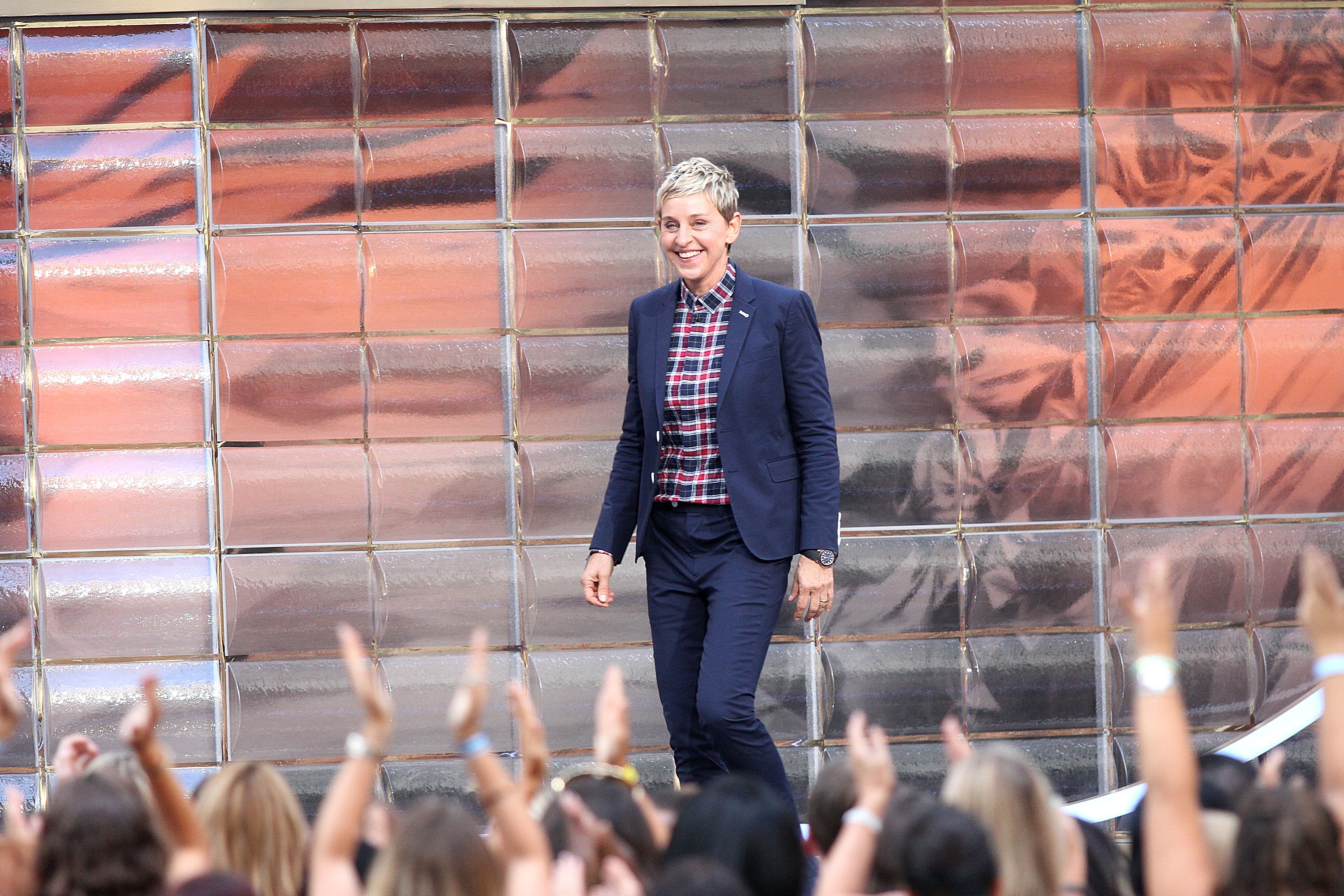 'The Ellen Degeneres Show' Season 13 bi-coastal premiere.