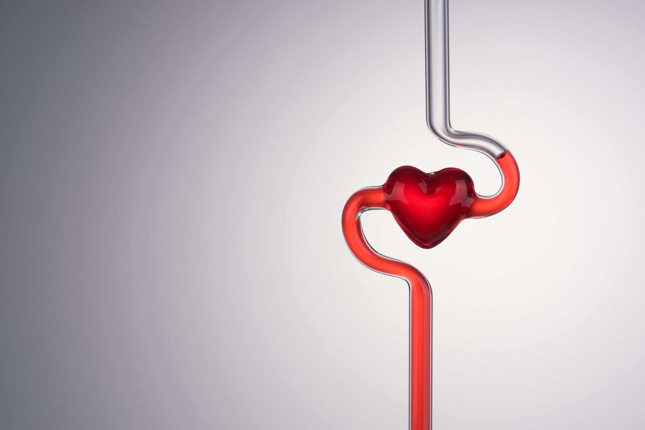 Blood Vessel and Heart Abstract.