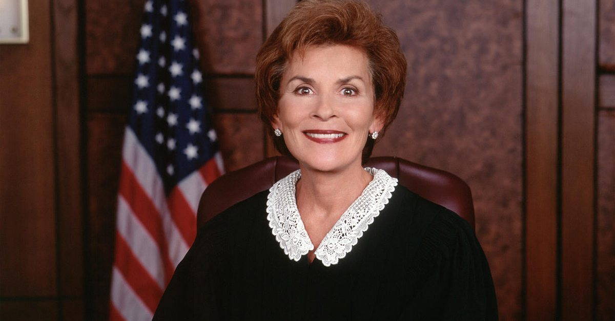 34 Admissible Facts About Judge Judy