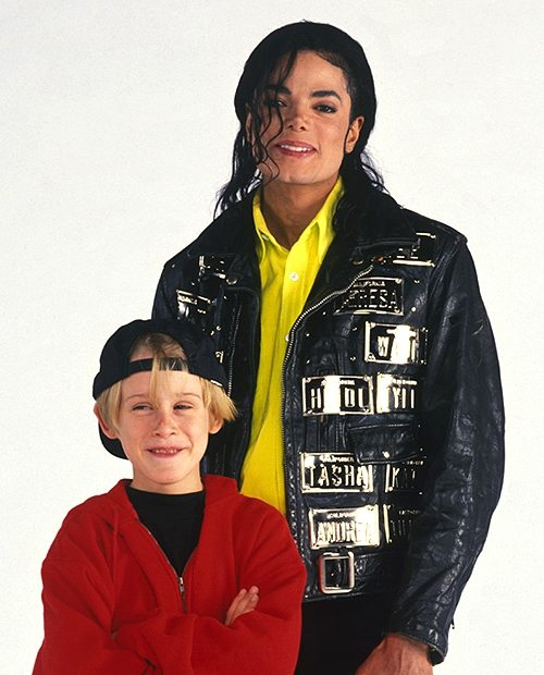 Macaulay Culkin Michael Jackson