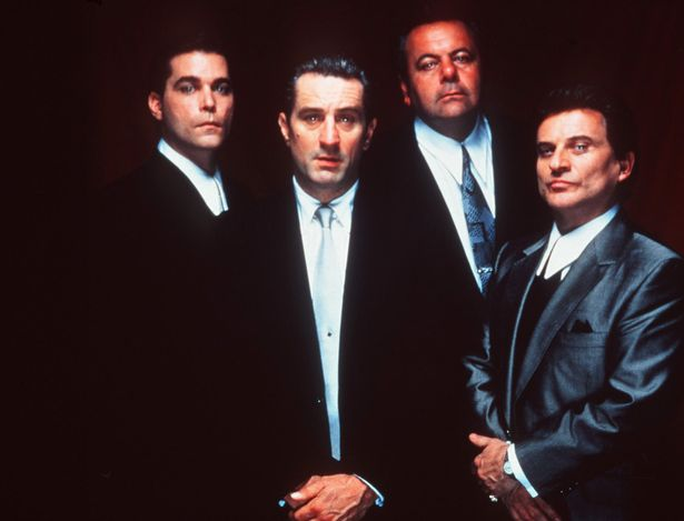 Goodfellas 1990 Film starring Ray Liotta - Robert De Niro Paul Sorvino and Joe Pesci