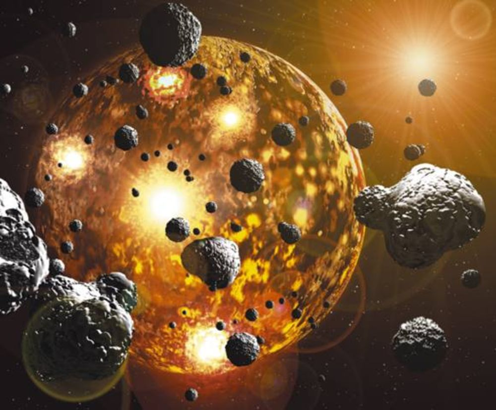 molten earth