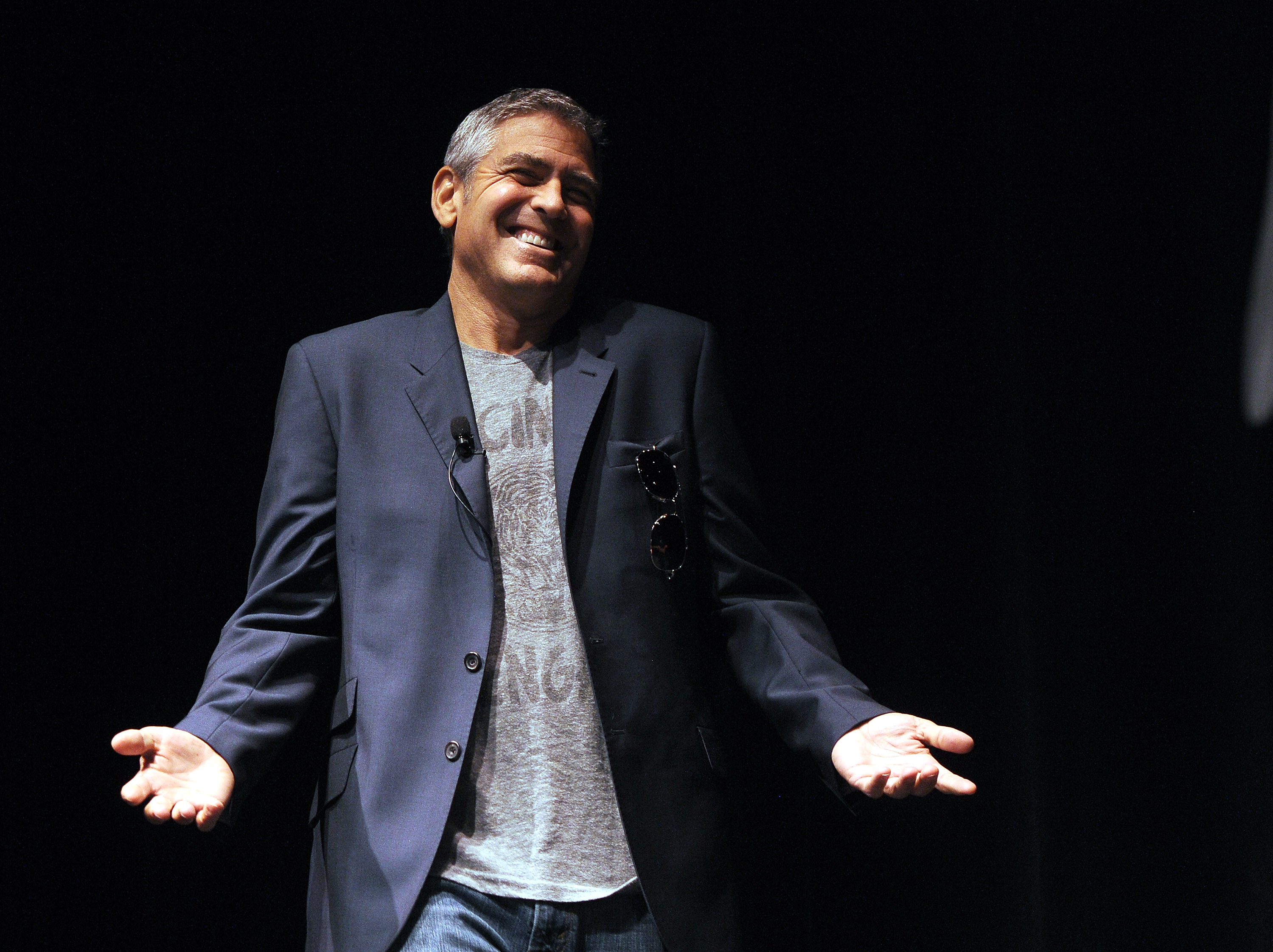 The 23rd Annual Palm Springs International Film Festival - Talking Pictures: Q&A With George Clooney