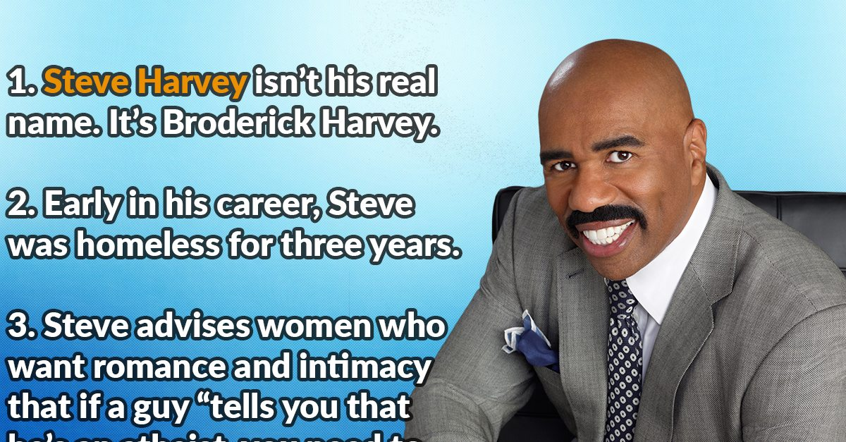 Man Cave Show Steve Harvey : Behind the scenes facts about steve harvey page of