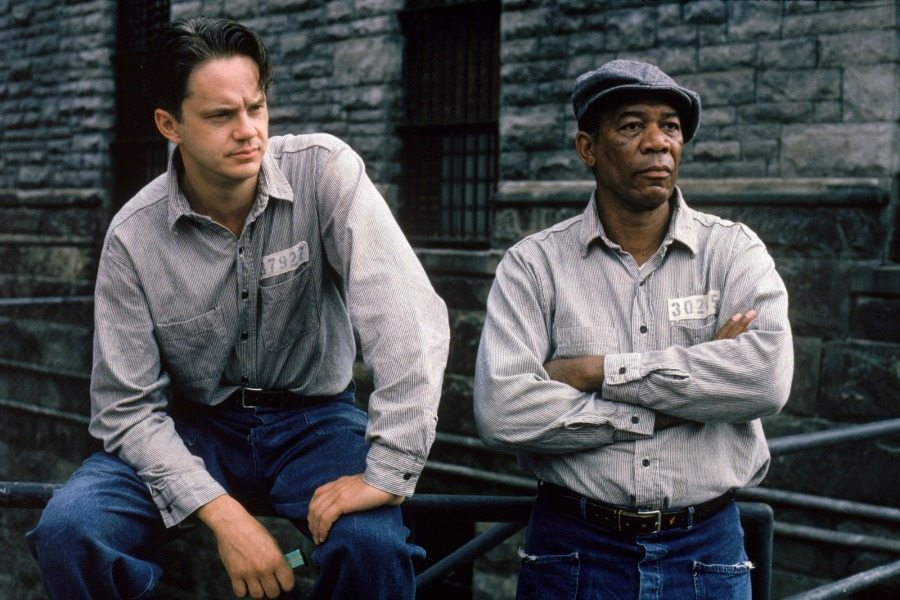 the simmilarities in character traits of red and brooks in the shawshank redemption 35 quotes from rita hayworth and shawshank redemption: a story from different seasons: 'some birds are not meant to be caged, that's all  supongamos, red, que .
