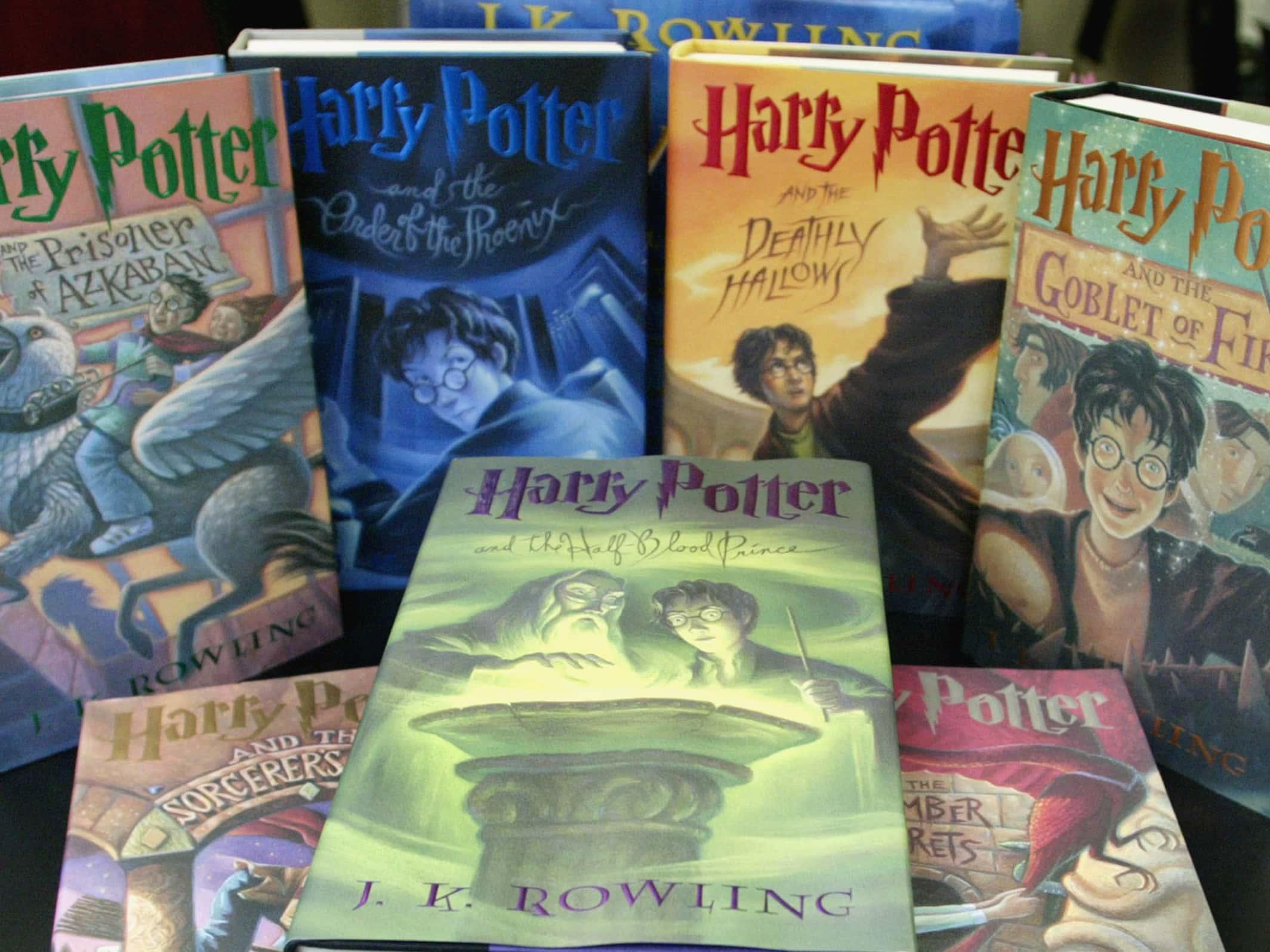 J.K. Rowling facts harry potter books