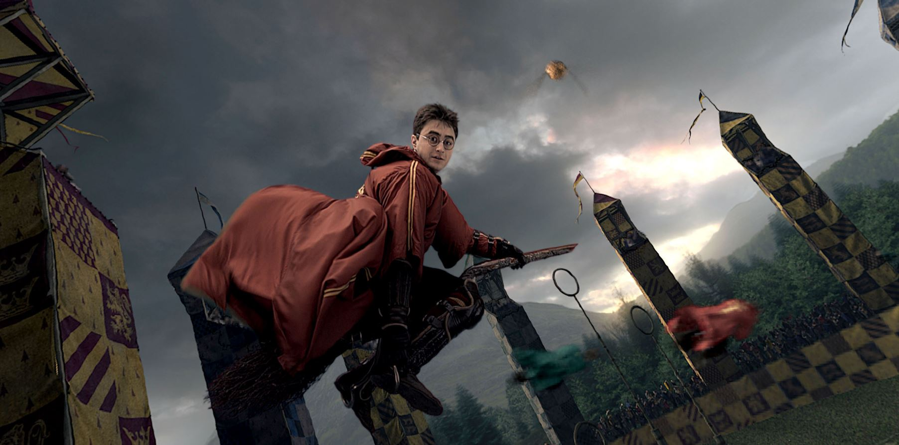 J.K. Rowling facts harry potter quidditch