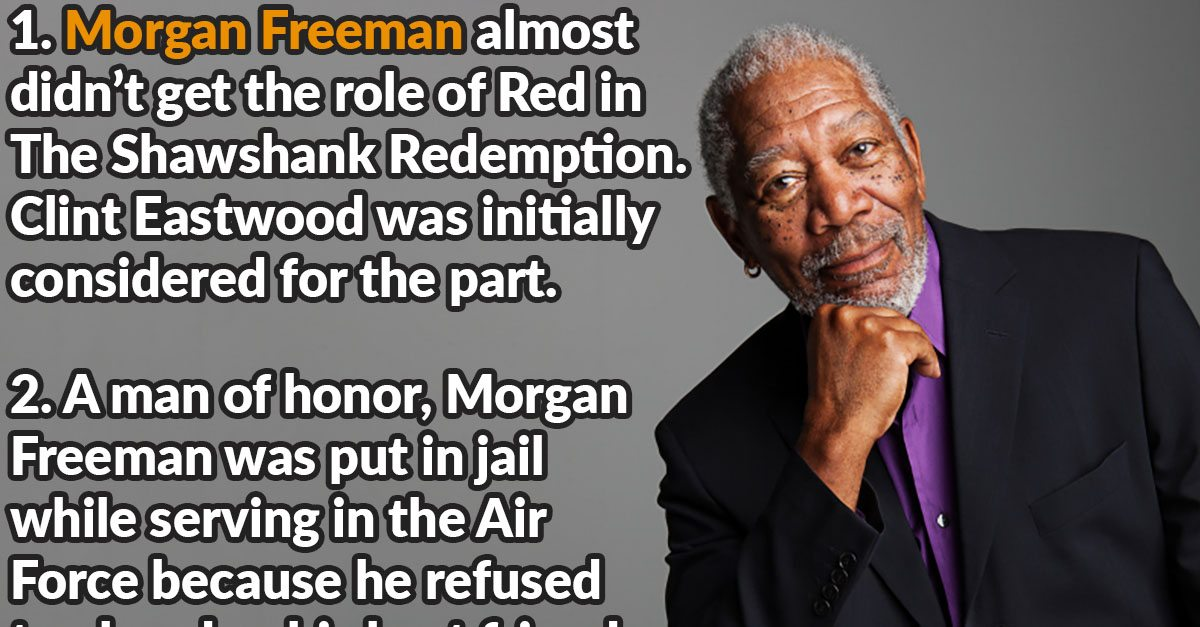 32 Wise Facts About Morgan Freeman