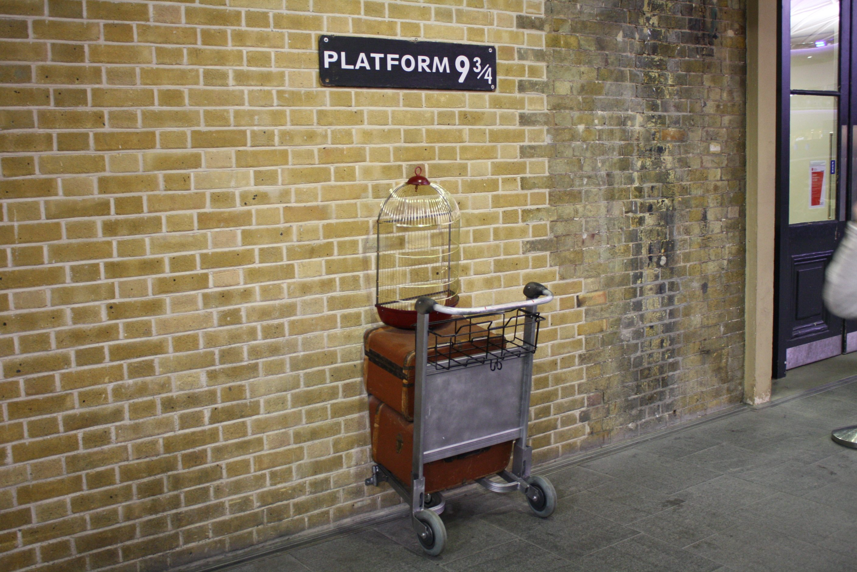 harry potter king's cross facts