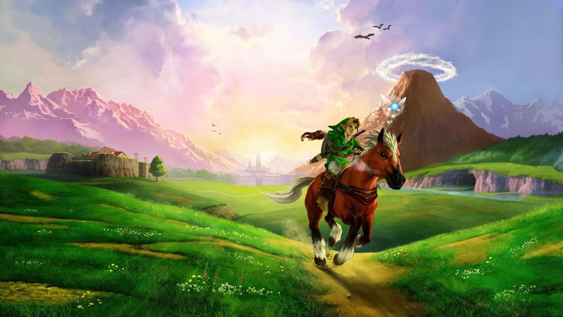 legend of zelda facts - epona