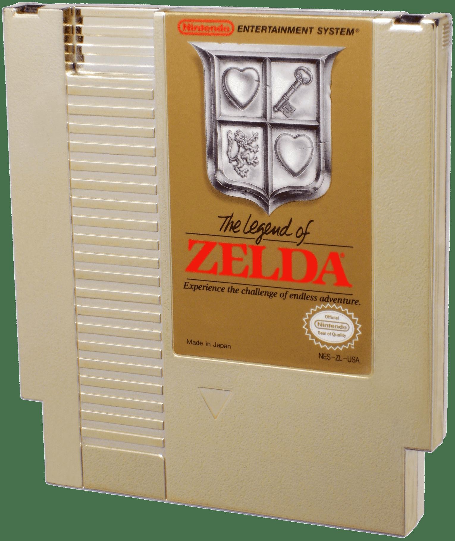 legend of zelda facts - cartridge