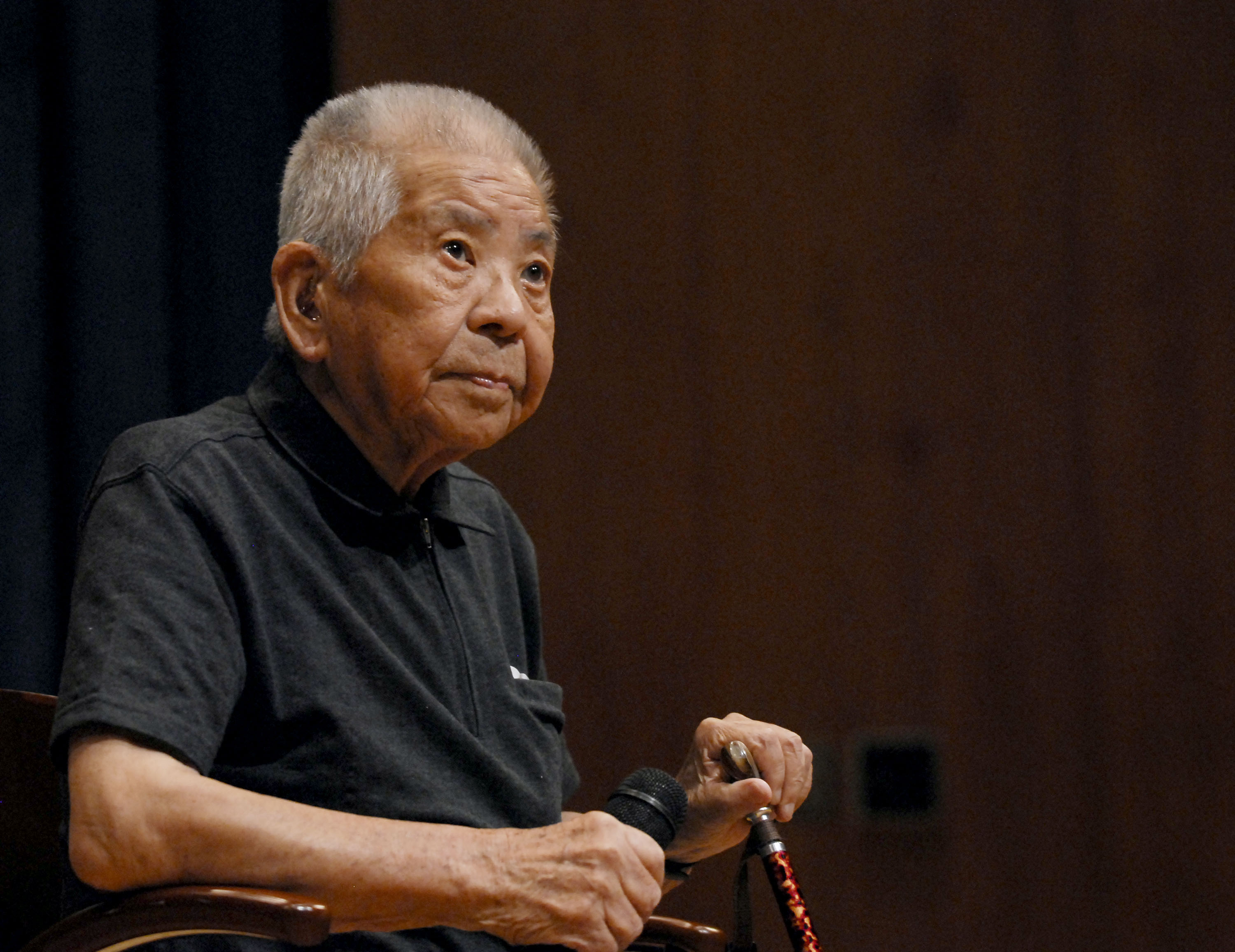 'Nijuuhibaku: Twice Bombed, Twice Survived' Screening and Q&A with Tsutomu Yamaguchi, Survivor of the Hiroshima and Nagasaki Bombings.