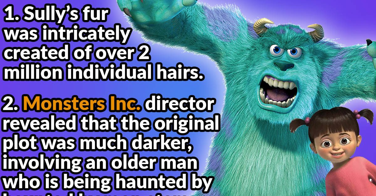 30 Terrifying Facts About Monsters Inc
