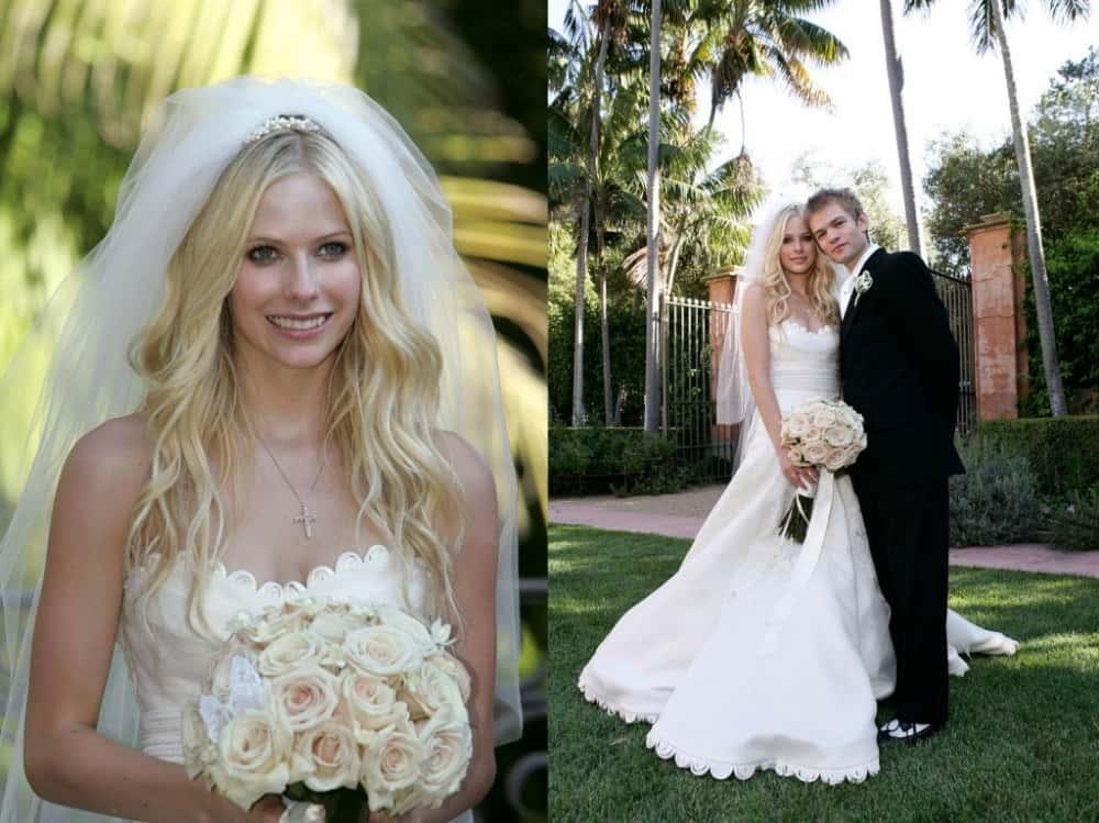 Avril Lavigne Matrimonio In Nero : Complicated facts about avril lavigne