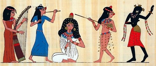 Ancient egyptian dancers opinion