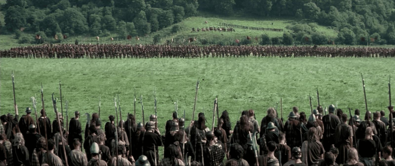 Image result for braveheart battle scene