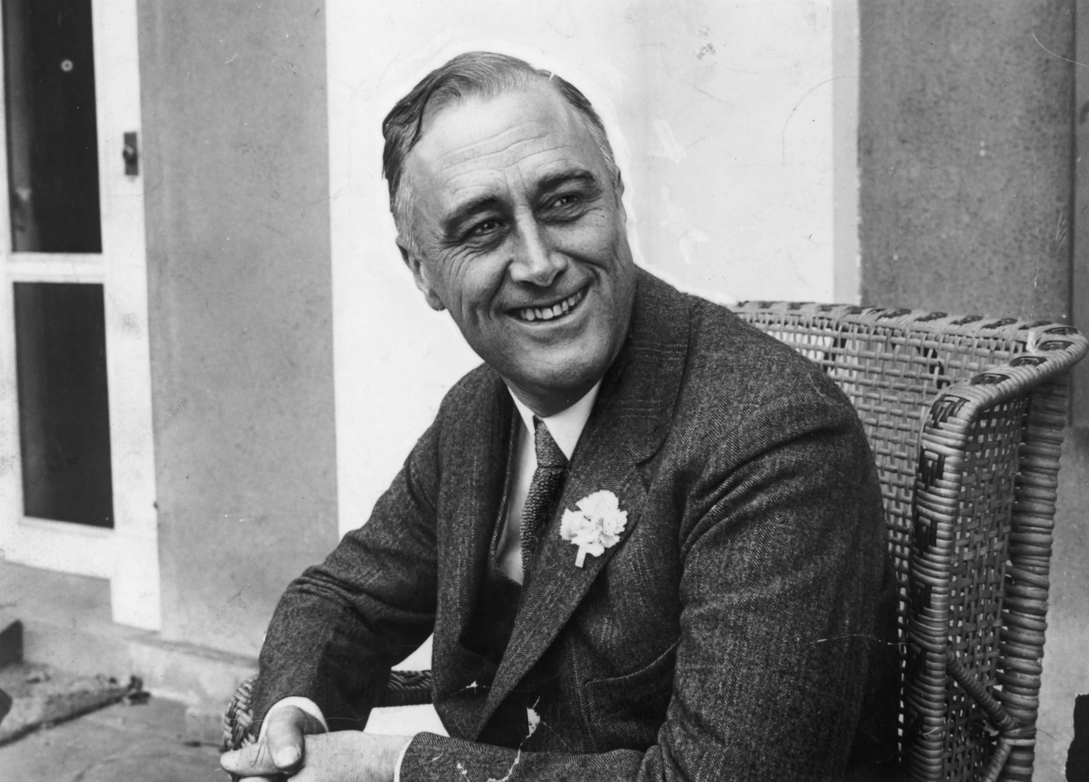 Franklin Delano Roosevelt.