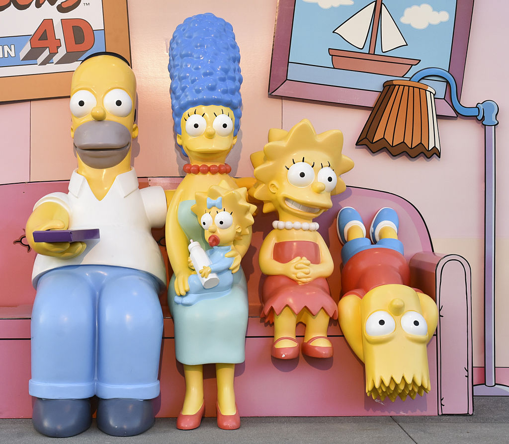 Celebration Of The 600th Episode Of 'The Simpsons' - Couch Gag Virtual Reality Experience.