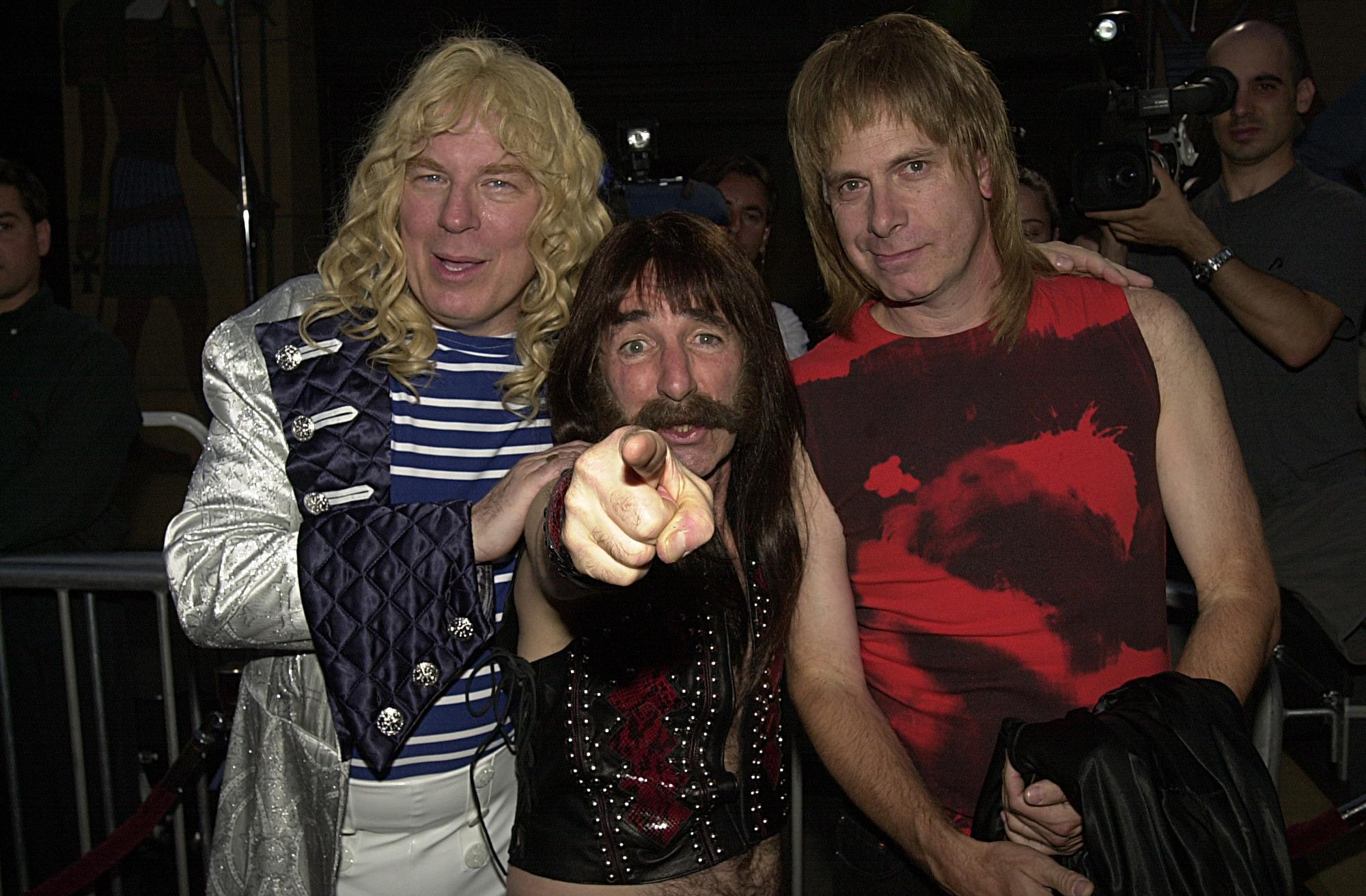 Celebrities at 'This Is Spinal Tap!' Premiere.