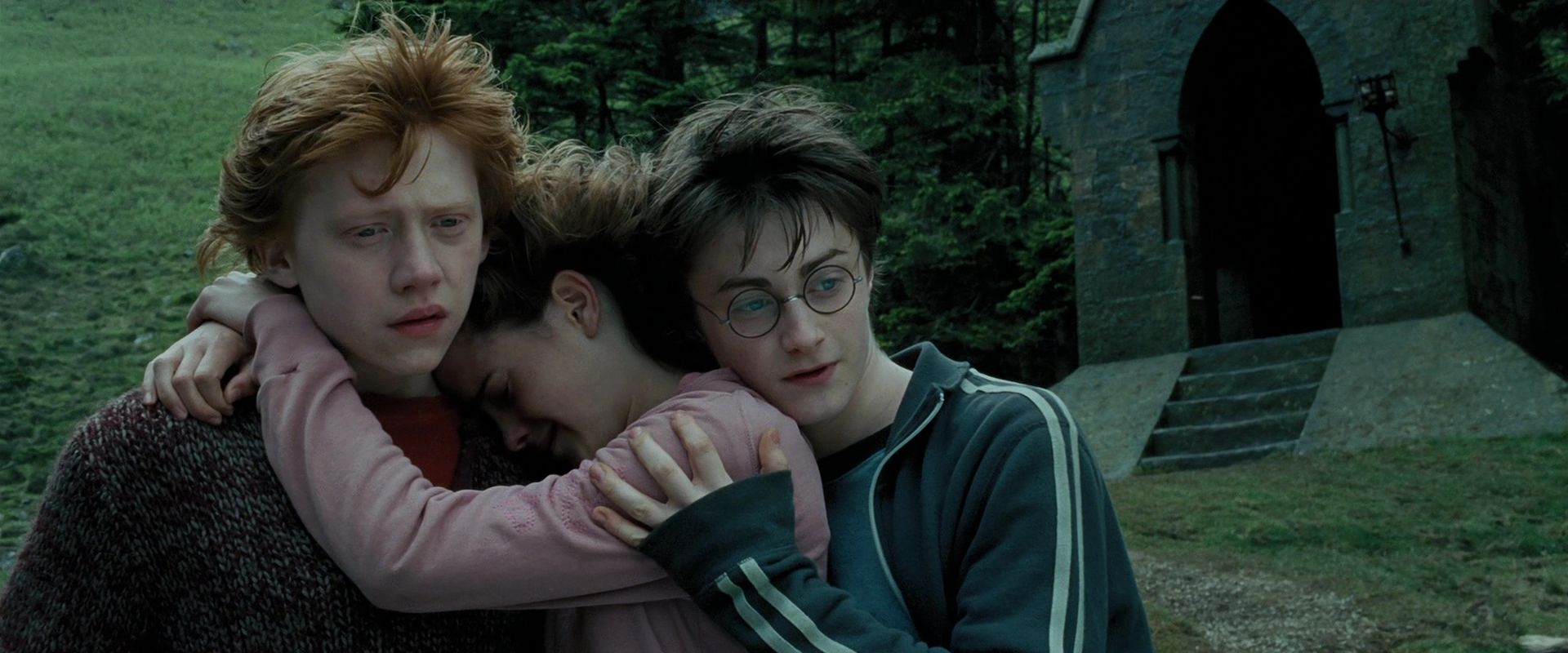 harry potter and hermione hook up