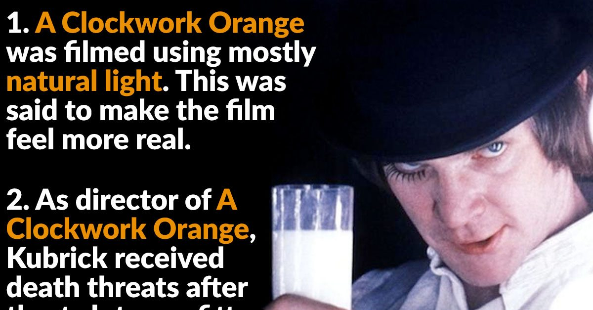 clockwork essay movie orange Analysis using george gerbner's philosophy of violence a clockwork orange is a dystopian novel, describing a forthcoming future in a stately controlled country the anti-hero alex rebels against the state using violence and is consequently locked up.