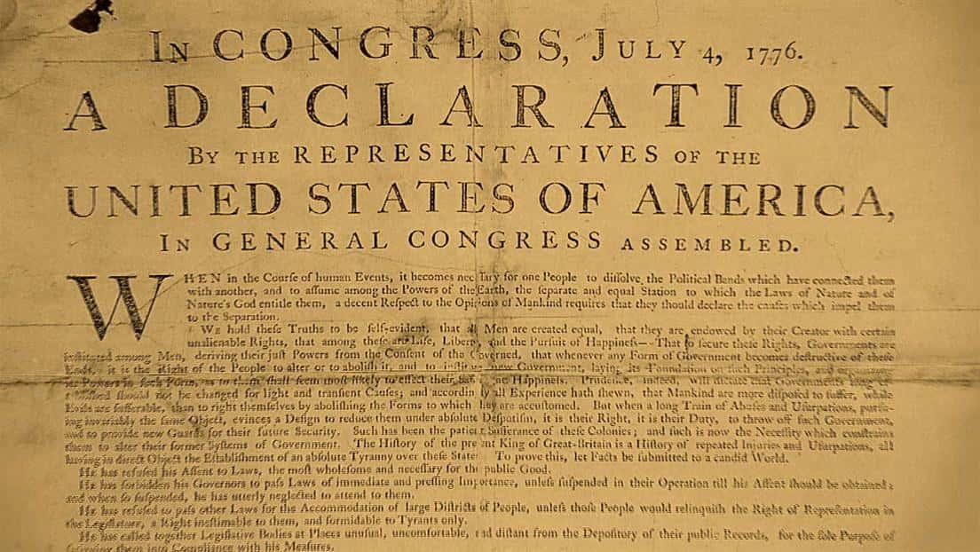 1776 declaration essay