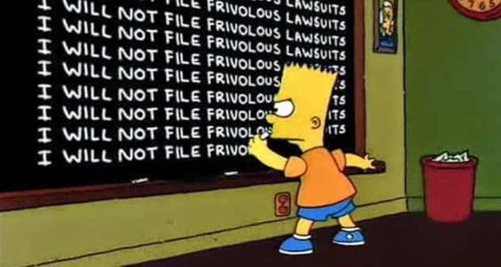 Frivolous Lawsuits facts