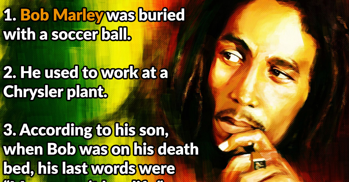 24 Chilled Facts about Bob Marley - Page 2 of 25