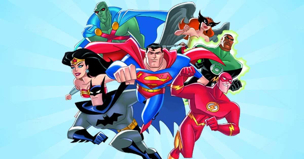 justice league cartoon - 920×512