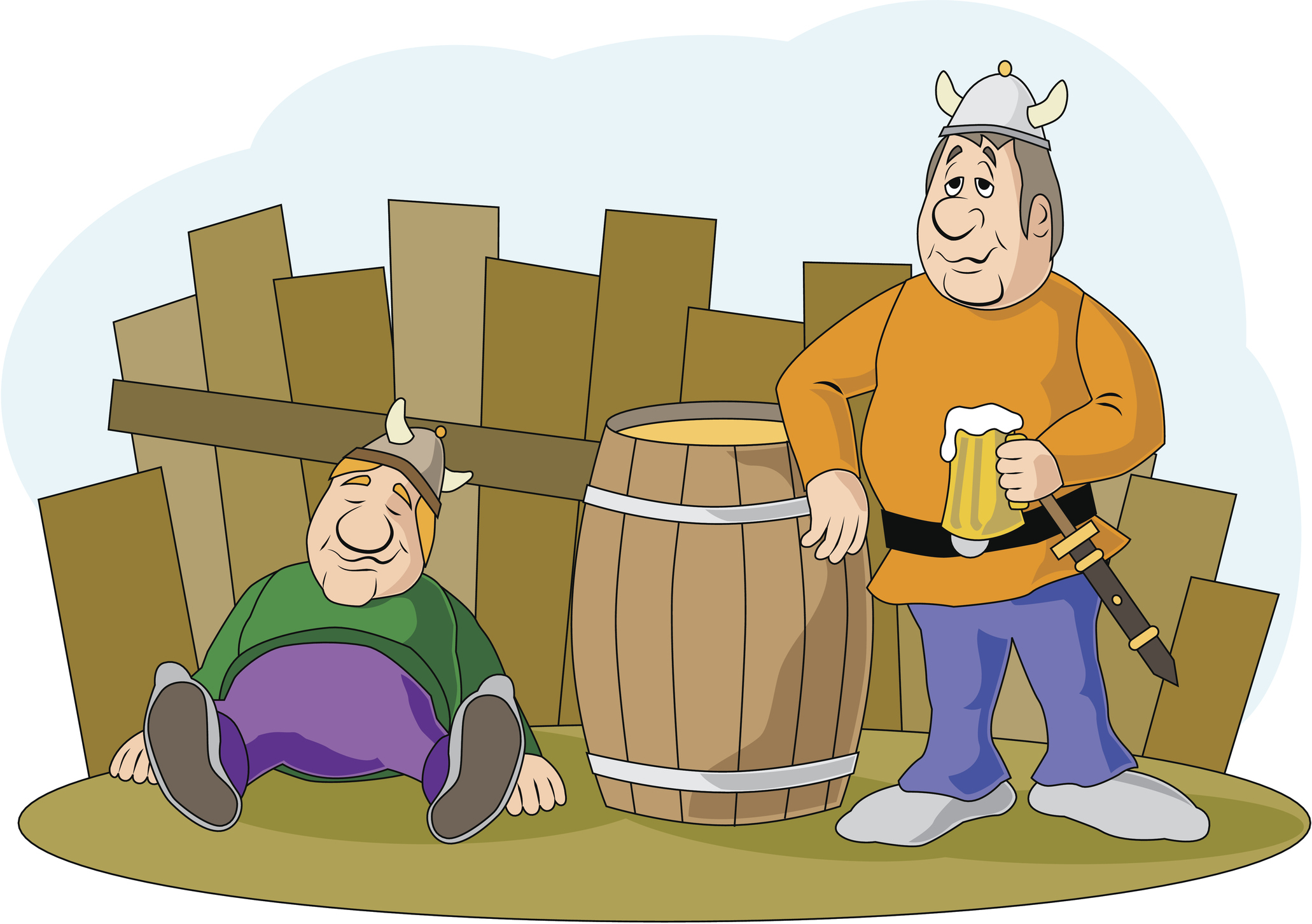 Drunk Vikings