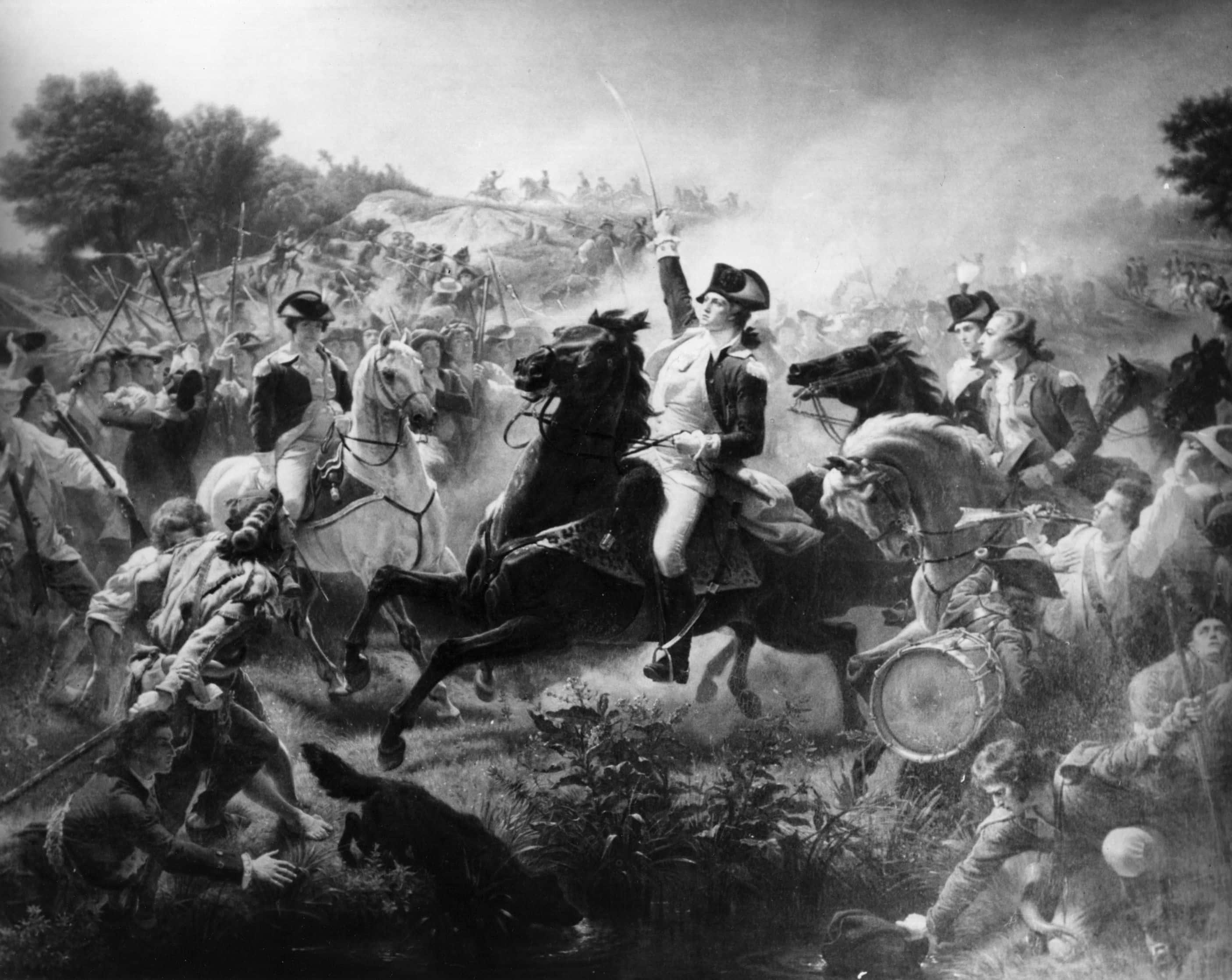 George In Battle