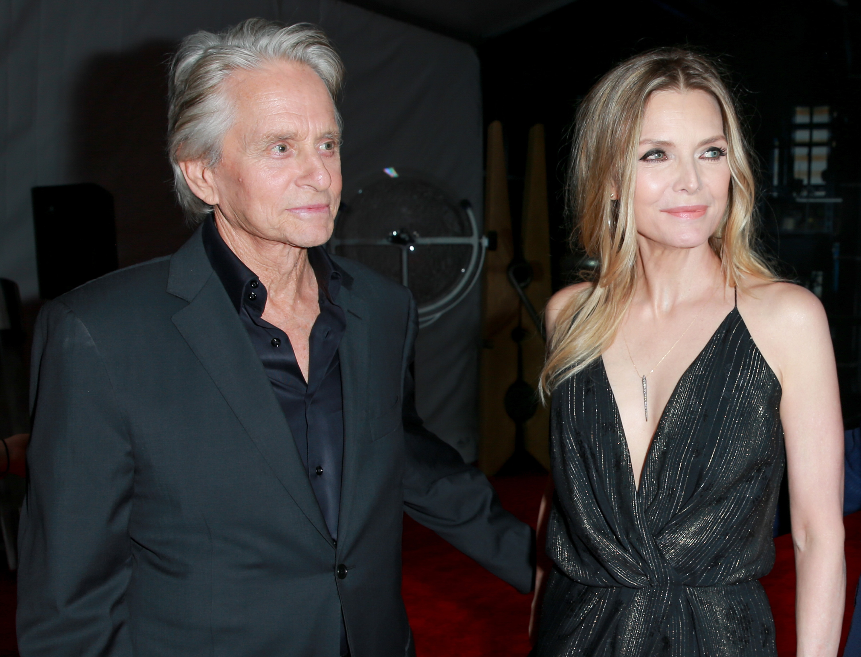 Premiere Of Disney And Marvel's 'Ant-Man And The Wasp' - Red Carpet. Michael Douglas and Michelle Pfeiffer.