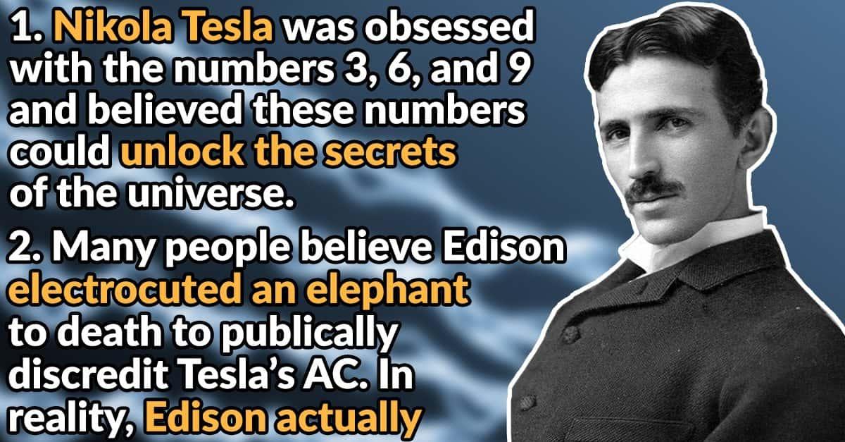 30 Electrifying Facts Facts About Nikola Tesla
