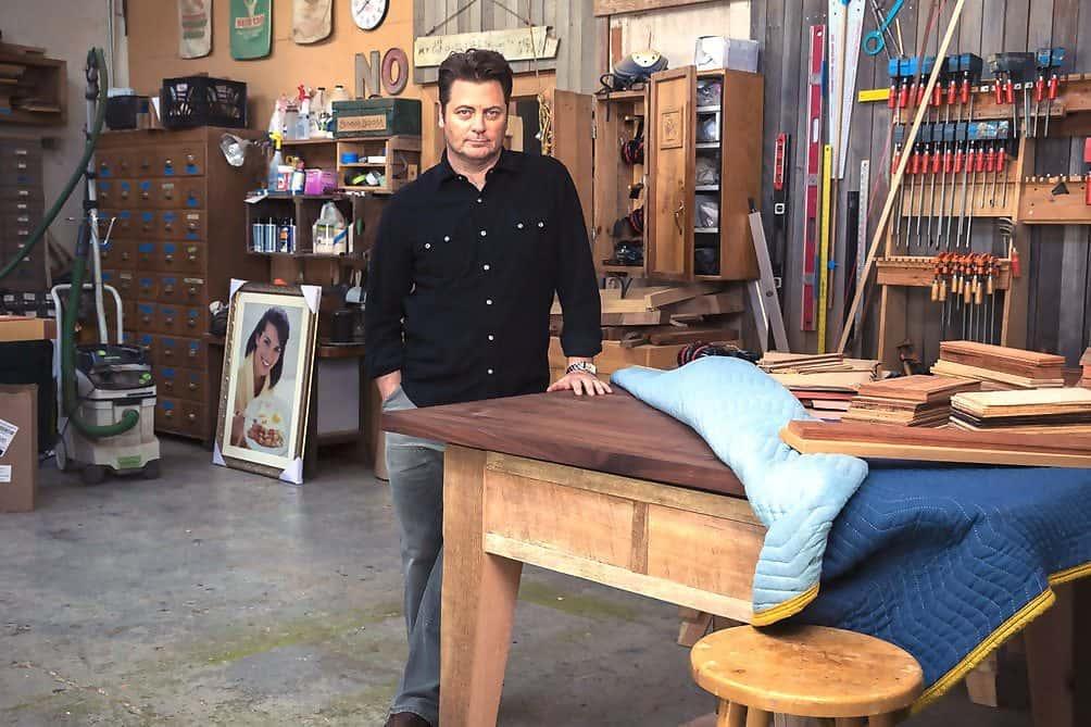 Parks And Rec Ron Circle Desk Episode