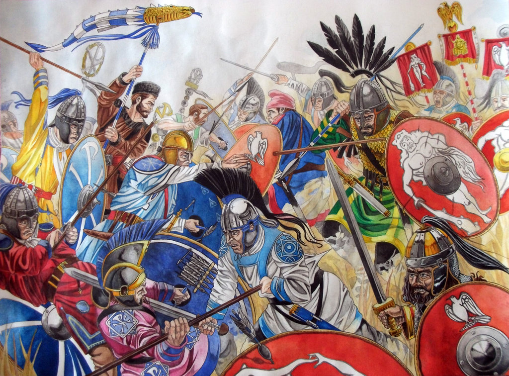 the battle of adrianople essay Battle of adrianople essay on august 9, 378 ce, the eastern roman army under the command of emperor valens attacked a gothic army (made up of visigoths and ostrogoths) that had camped near the town of adrianople (also called hadrianoplis) and was routed.