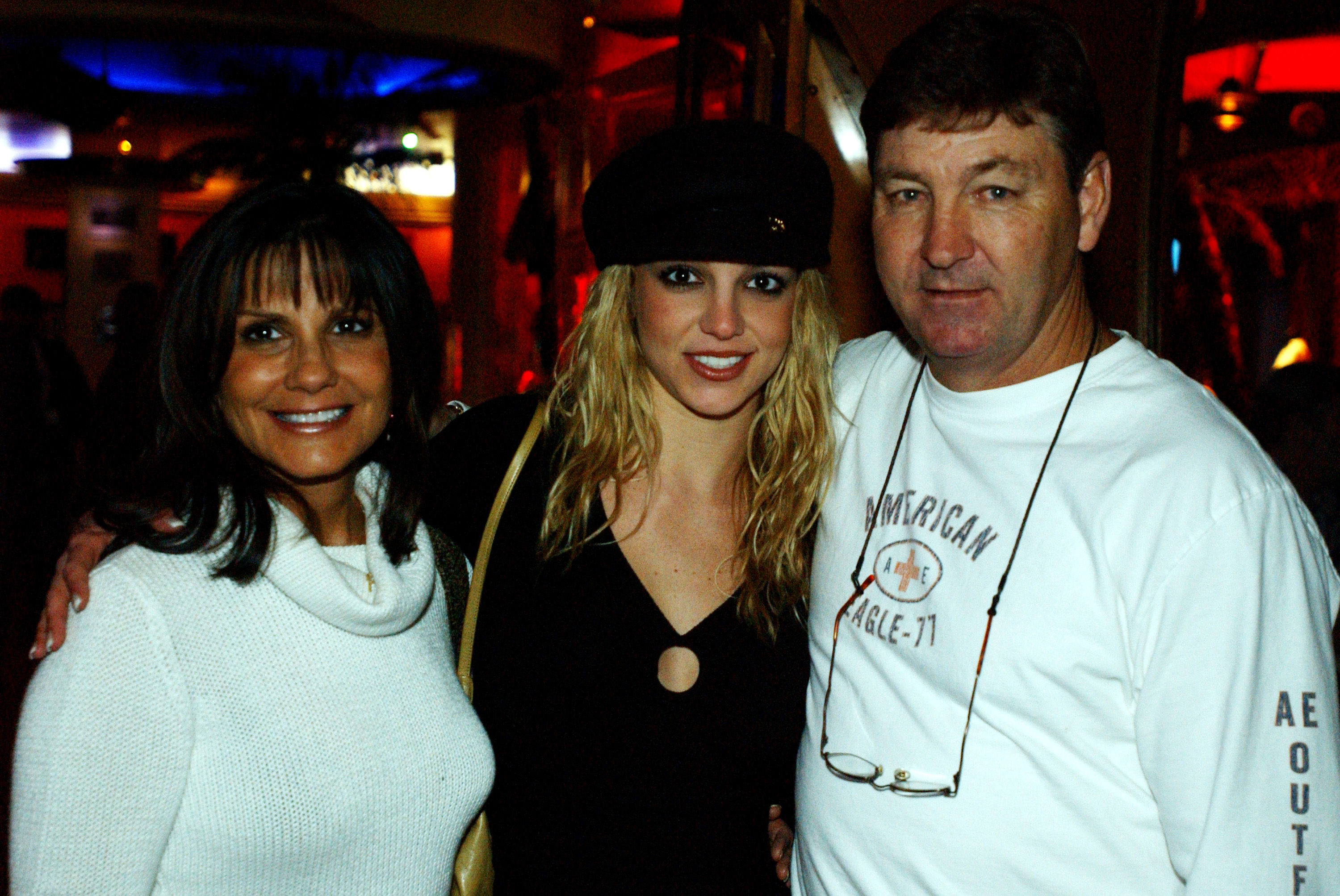 Britney Spears at Planet Hollywood, Las Vegas Party.