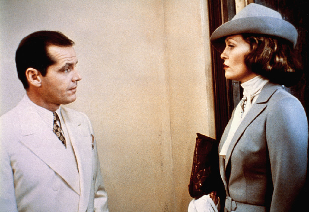 On the set of Chinatown