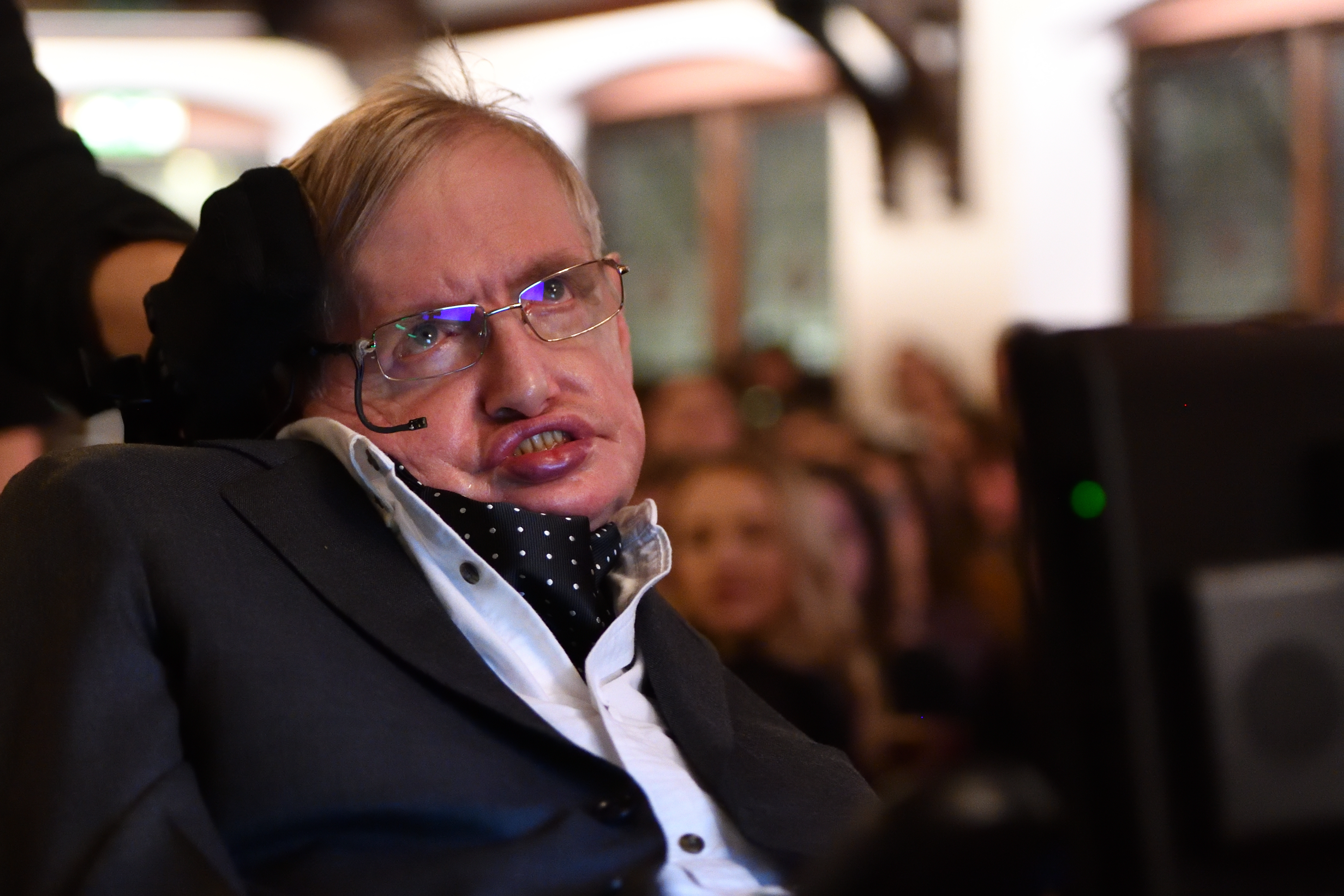 Stephen Hawking Addresses The Cambridge Union