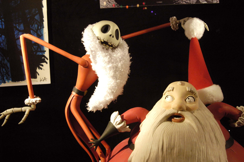 Tim Burton's 'The Nightmare Before Christmas'.