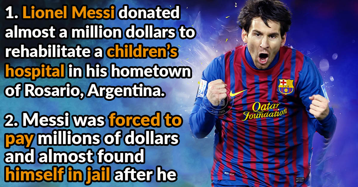 5c4e05b20eb 42 Striking Facts About Lionel Messi