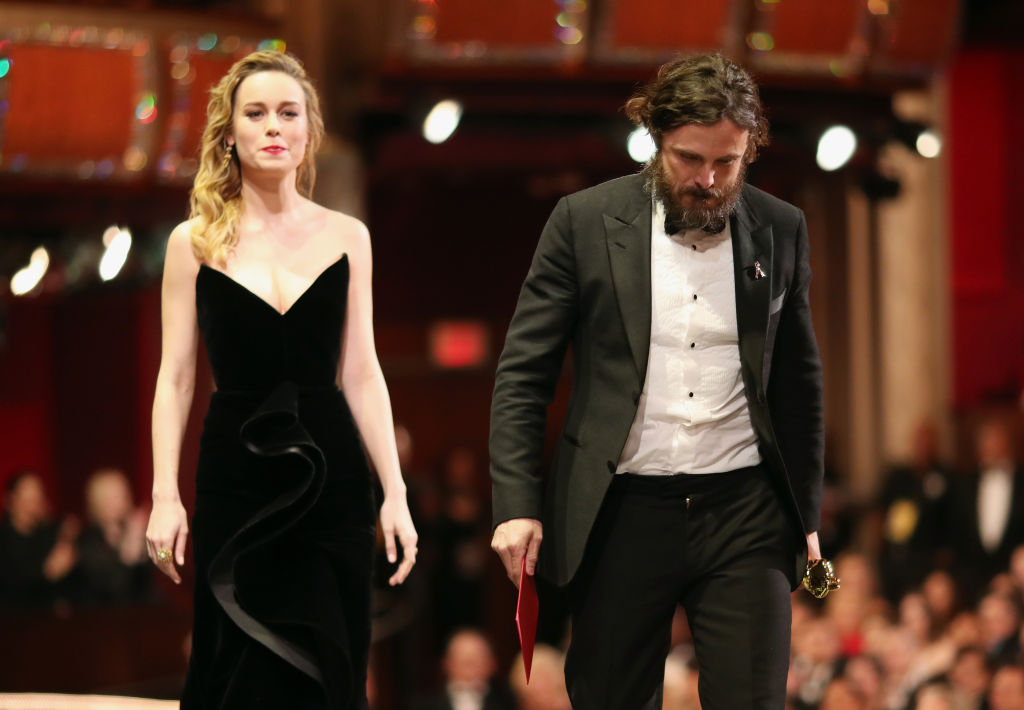 Brie Larson and Casey Affleck