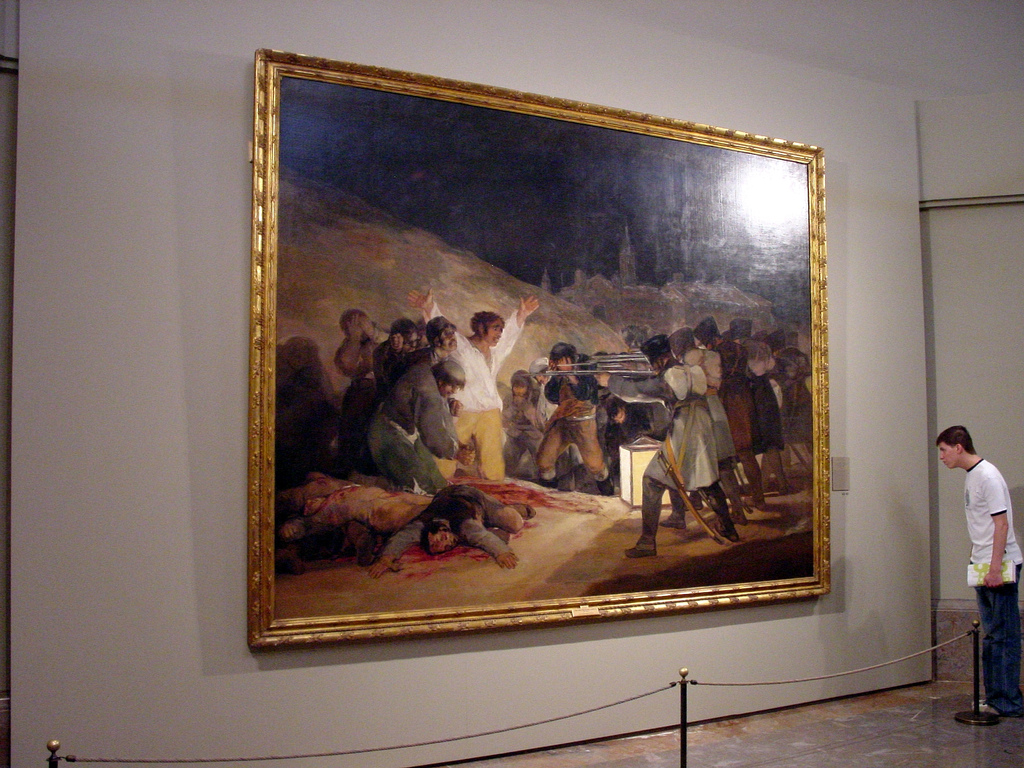 the third of may 1808 essay The third of may 1808:  and contrast essay (goya's third of may, 1808) and (velazquez's surrender at breada) the paintings goya's third of may,.