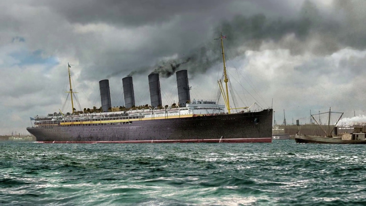 Fast In German >> 40 Catastrophic Facts About the Lusitania