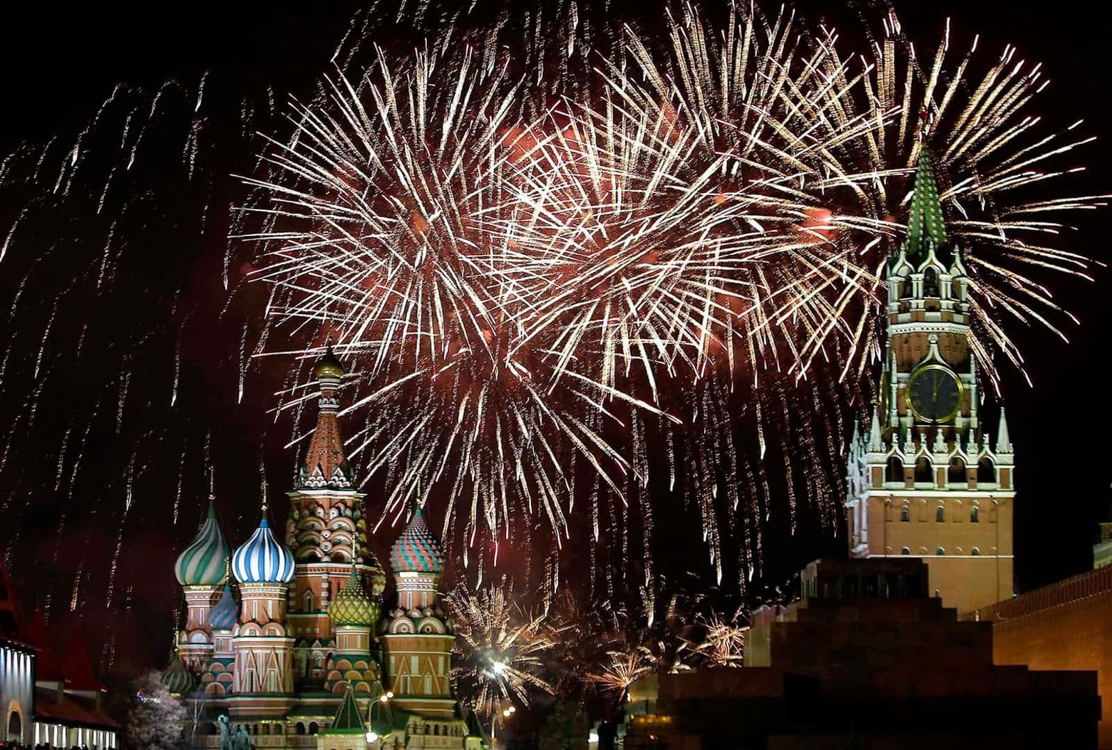 Как проходит новый год в россии 2017
